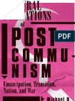 0816638578 Cultural Formations of Post Communism