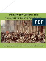 the early 19th century - congress of vienna through 1848 with notes