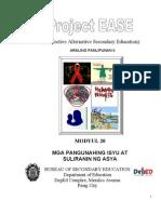 Dep Ed Module Para Sa Araling Panlipunan II