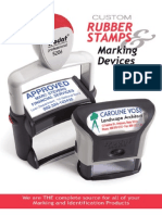 Trodat Standard Self Inking Stamp and Accessory Expanded Catalog With Names Badges, Wall Signs, Desk Signs, and Door Signs