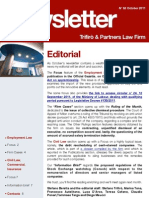 Newsletter T&P N°52 Eng