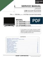 Sharp Lcd Tv e e e e Lc-32bv6e