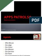 Apps Patrols Level0