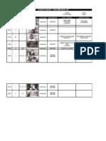 Plan de Rodaje - En Base Al Guion Final