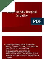 Baby Friendly Hospital Initiative