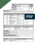 Resume for b[1].Tech(2) - Copy