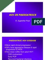 Hiv in Paediatrics