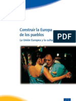 Construir La Europa de Los Pueblos