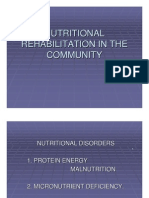 Nutritional Rehabilitation in the Community