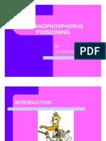 ORGANOPHOSPHORUS POISIONING