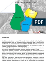 ESTUDO IDESP - DIVISÃO DO ESTADO DO PARÁ