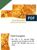 ED Case Discussion
