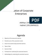 Evaluation Corporate Enterprises