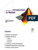 Short Matlab