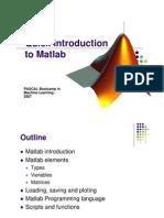 Short Matlab