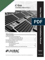 UNIRAC PV Panel Installation