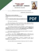 OFICIO GOBERNADOR