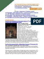 CoolTan Arts November 2011 Newsletter
