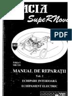 Dacia SupeRNova - Manual Service Vol