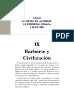 x Sem.-el Origen de La Familia, La Propiedad Privada y El Estado. f. Engels
