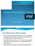 36570458 Direct and Indirect Taxes