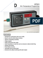 ST121 Kiln Temperature Programmer