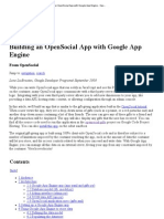 Building an Open Social App With Google App Engine - Open Social