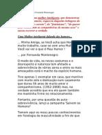 HOMENS Segundo Fernanda Monte Negro