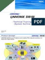 SV8100 System Outline
