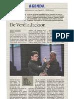 De Verdi a Jackson
