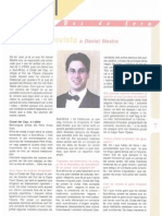 Entrevista a Daniel Mestre