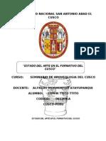 Seminario de Cusco Formativo