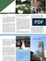 Week 9 Lab - Ann Arbor Brochure