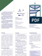 2011 IX 12 Ciclo Acadêmico folder
