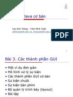 Java Bai4 Basic) Slide