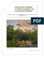 National Key Deer Refuge--Desired Future Conditions for Fire-maintained Habitats