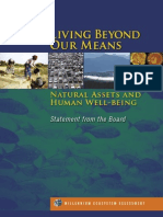 Natural Assets and Human Well-being