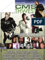 CMS Northwest 2011 - Event Program
