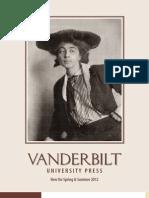 Vanderbilt University Press Spring 2012 Catalog