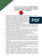 Elezioni 2011 Programma Elettorale Definitivo