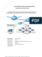 ICT LAW - Liability of ISPs - Assign. 1