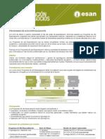 Hoja informativa de la Maestría en Administración de Agronegocios 2012