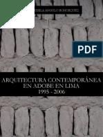Arquitectura Contemporanea en Adobe en Lima