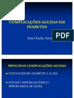 3- Complicações agudas em diabetes