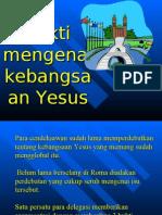 Kebangsaan Yesus