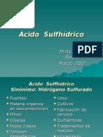 Acido Sulfhídrico