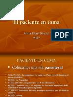 Paciente en Coma - Diferenciales