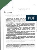Lettera Notifica Schede e Graduatorie Provvisorie Mobilità Nazionale 2006