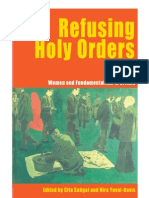 Refusing Holy Orders Eng