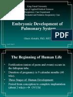 Lec01-Fetal Lung Devlp